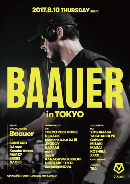 8.10 Baauer in TOKYO