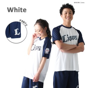 埼玉西武ライオンズ_ドライハーフ_ホワイト